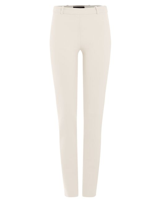 Roland Mouret | Женское Белый Tapered Straight Leg Pants Gr. 6