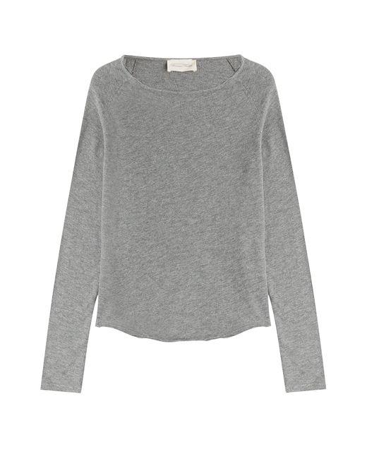 American Vintage   Женское Серый Cotton Top Gr. S