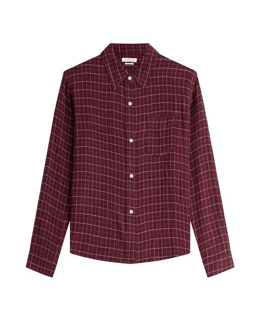 Isabel Marant Étoile | Женское Красный Printed Shirt With Wool Gr. 36