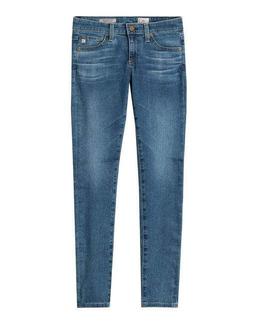 Ag Adriano Goldschmied | Женское Синий Skinny Jeans Gr. 25