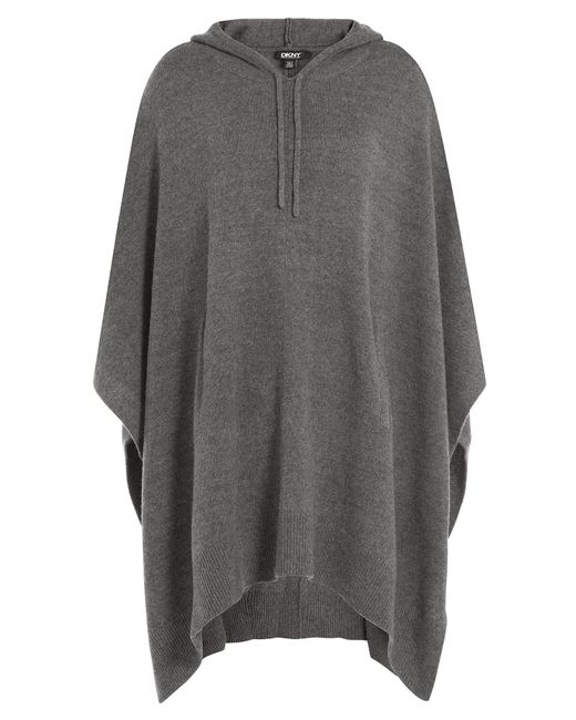 DKNY | Женское Серый Wool Cape With Silk And Cashmere Gr.