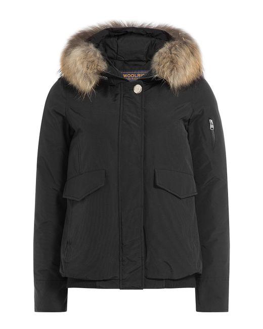 Woolrich | Женское Чёрный Campton Down Jacket With Fur-Trimmed Hood Gr.