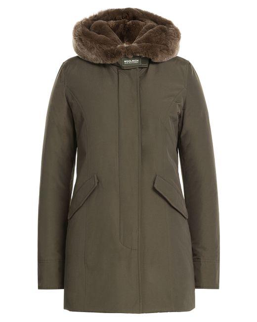 Woolrich | Женское Зелёный Beaker Parka With Fur-Trimmed Collar Gr. Xs