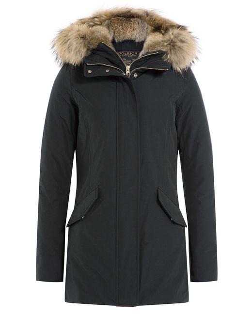 Woolrich   Женское Чёрный Ws Valentine Down Parka With Fur-Trimmed Hood