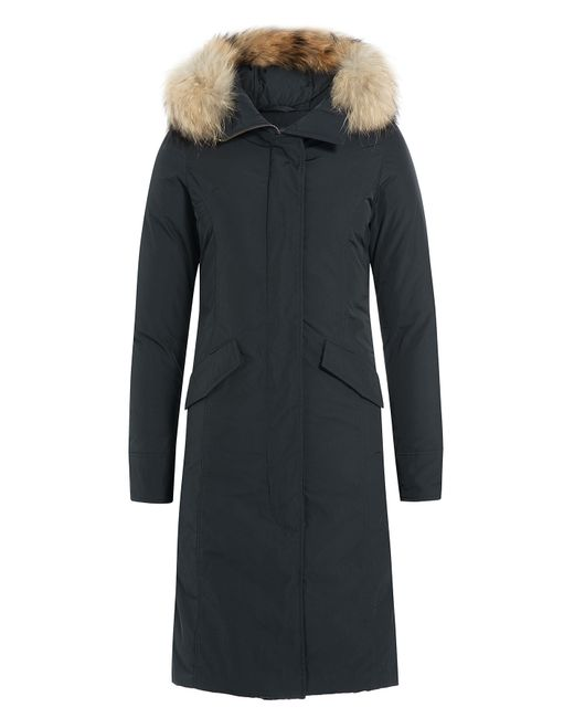 Woolrich | Женское Синий Luxury Long Down Parka Gr. Xs