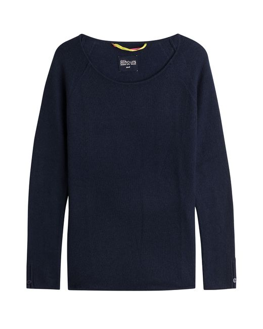 81 Hours by Dear Cashmere | Женское Синий Cashmere Pullover Gr. Xl