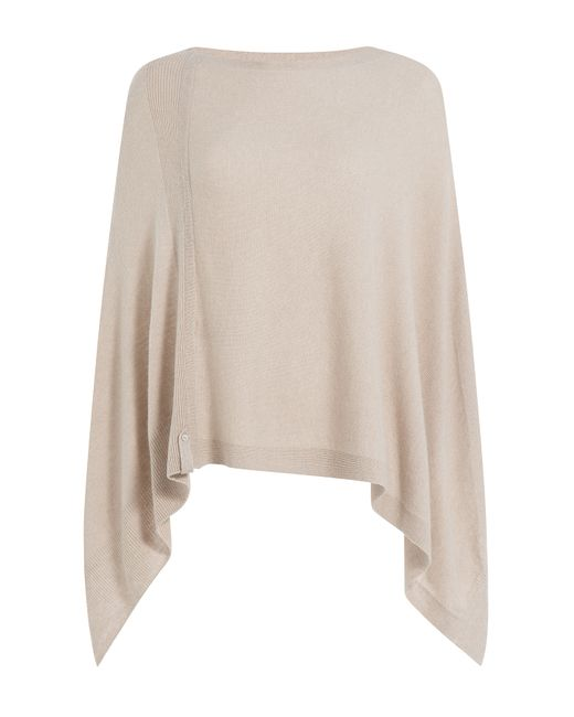 81 Hours by Dear Cashmere | Женское Бежевый Cashmere Cape Gr. One Size
