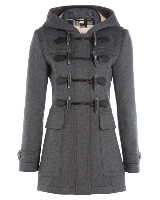 Burberry Brit | Серый Wool Duffle Coat Gr. 4