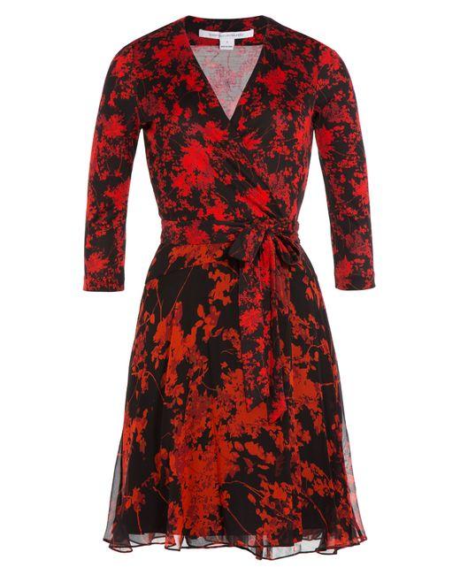 Diane Von Furstenberg   Женское Многоцветный Silk Wrap Dress Gr. 0