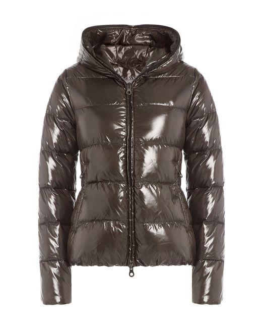 Duvetica   Женское Коричневый Down Jacket With Hood Gr. It 42
