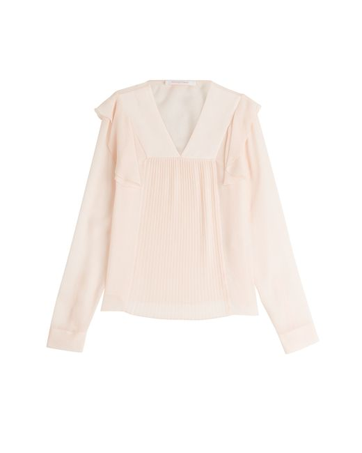 See By Chloe | Женское Rosa Ruffle And Pleated Blouse Gr. Fr 40