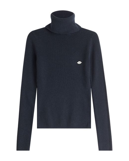 See By Chloe | Женское Синий Turtleneck With Wool And Cashmere Gr. S