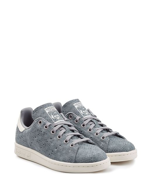 adidas Originals | Женское Синий Stan Smith Textured Leather Sneakers Gr. 8