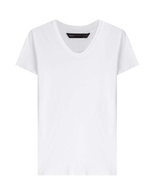 Marc by Marc Jacobs | Женское Белый Cotton T-Shirt Gr. S