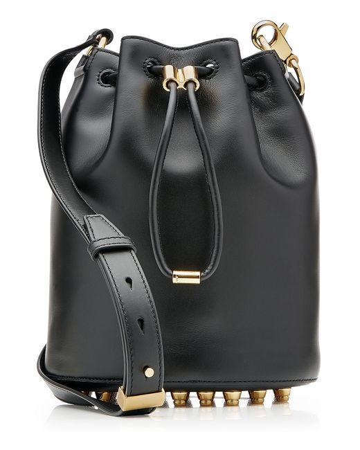 Alexander Wang | Женское Чёрный Alpha Bucket Leather Shoulder Bag Gr. One