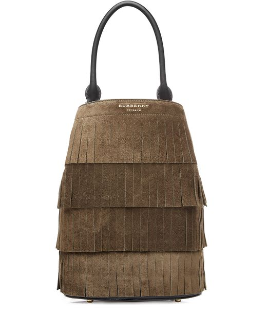 Burberry Prorsum | Женское Зелёный Suede Bucket Bag Gr. One Size