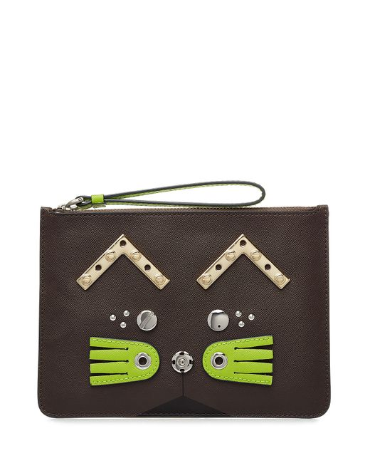 Marc by Marc Jacobs | Женское Серый Embellished Clutch Gr. One Size