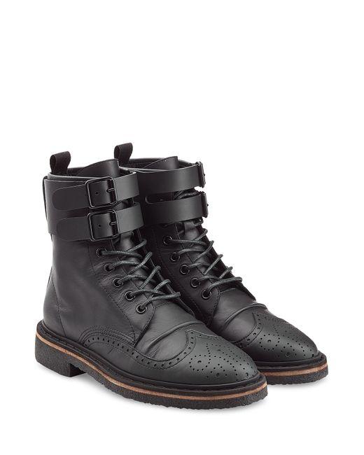 Golden Goose | Женское Schwarz Leather Ankle Boots Gr. 36