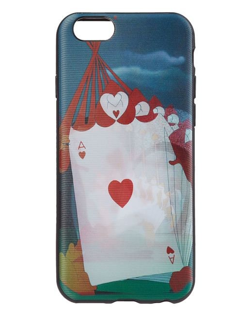 Marc by Marc Jacobs x Disney | Schwarz Playing Cards Printed Case For Iphone 6