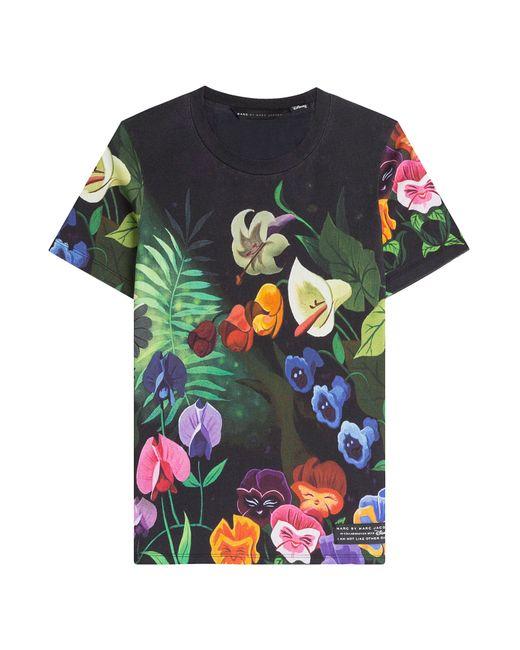 Marc by Marc Jacobs x Disney   Женское Flower Garden Printed T-Shirt Gr. M