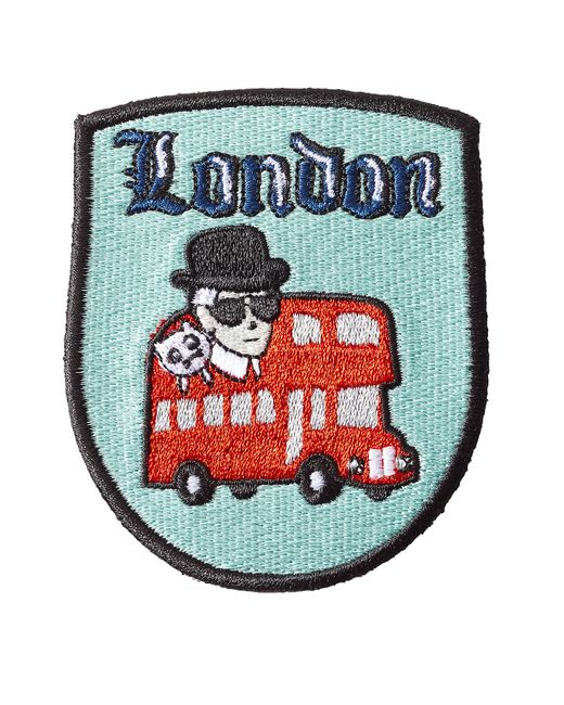 Karl Lagerfeld | Многоцветный London Patch Sticker Gr. One Size