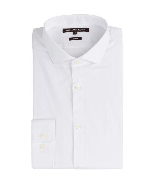 Michael Kors Collection   Weiß Cotton Shirt Gr. S