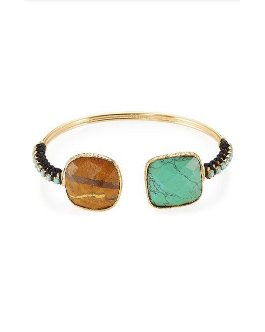 GAS BIJOUX | Женское Многоцветный Embellished Duality Serti Bracelet Gr. One Size