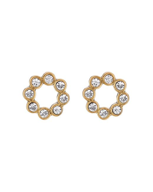 Marc Jacobs | Женское Золотой Crystal Dot Studs Earrings Gr. One Size