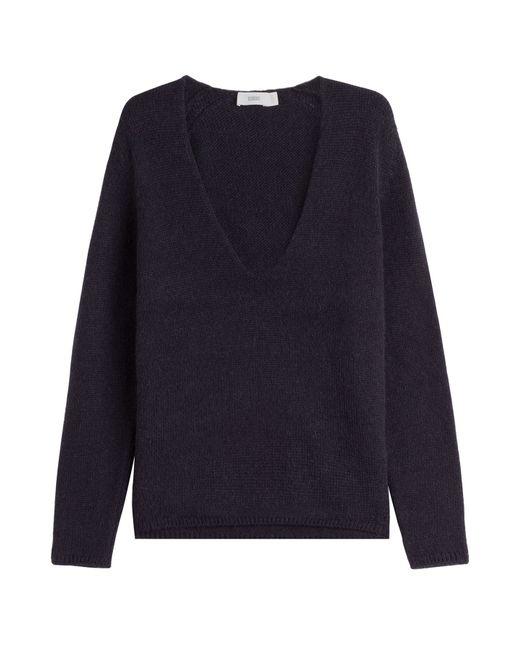 Closed | Женское Синий Pullover With Alpaca Wool Gr. Xs