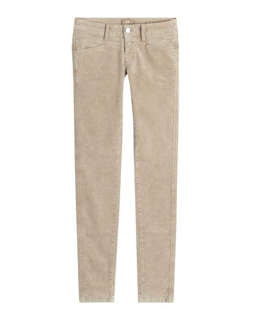 Closed | Женское Бежевый Baker Velvet Skinny Jeans Gr. 30