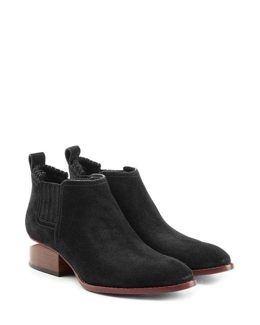 Alexander Wang   Женское Чёрный Suede Ankle Boots Gr. Eu 39