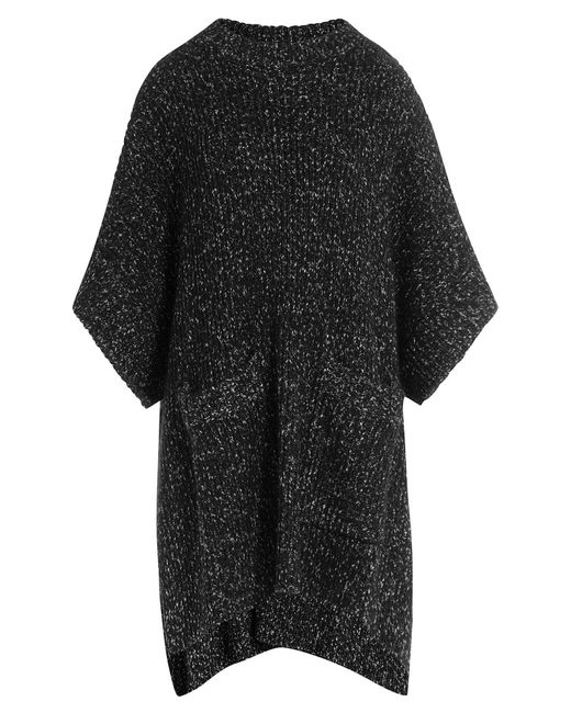 See By Chloe | Женское Чёрный Two-Tone Knit Poncho Gr. Xs/S