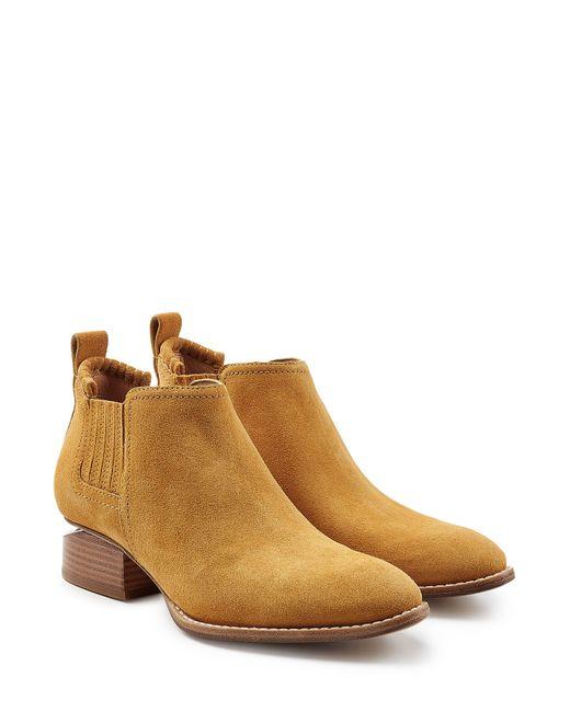 Alexander Wang | Женское Camel Suede Ankle Boots Gr. Eu 36