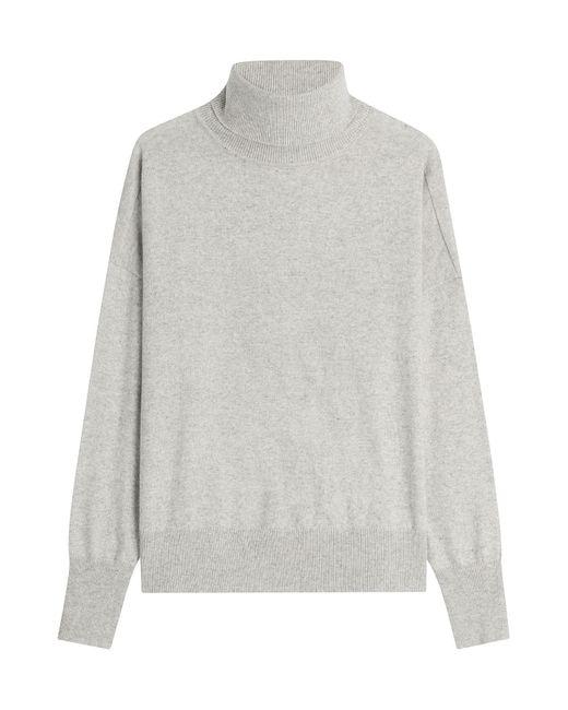 Closed | Женское Серый Turtleneck Pullover With Wool Gr. M