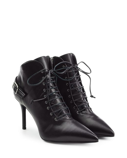 Giuseppe Zanotti Design | Женское Чёрный Tronchetto Leather Ankle Boots Gr. It 38