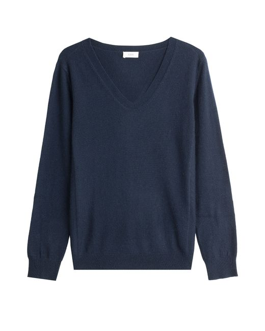 Closed | Женское Синий Pullover With Wool And Cashmere Gr. Xs