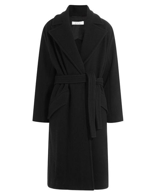 Iro | Женское Чёрный Belted Coat With Wool Gr. Fr 36