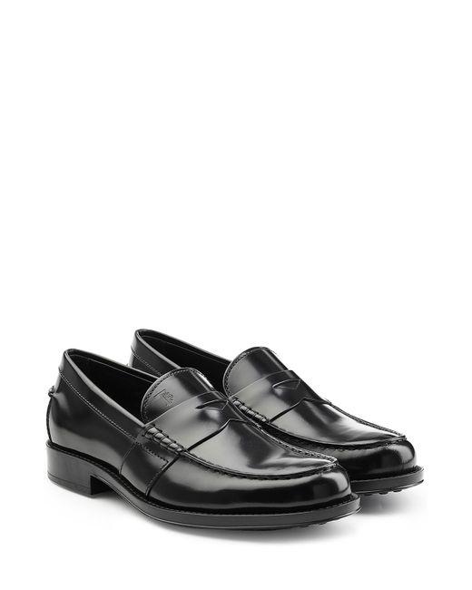 Tod'S   Чёрный Leather Loafers Gr. Uk 10