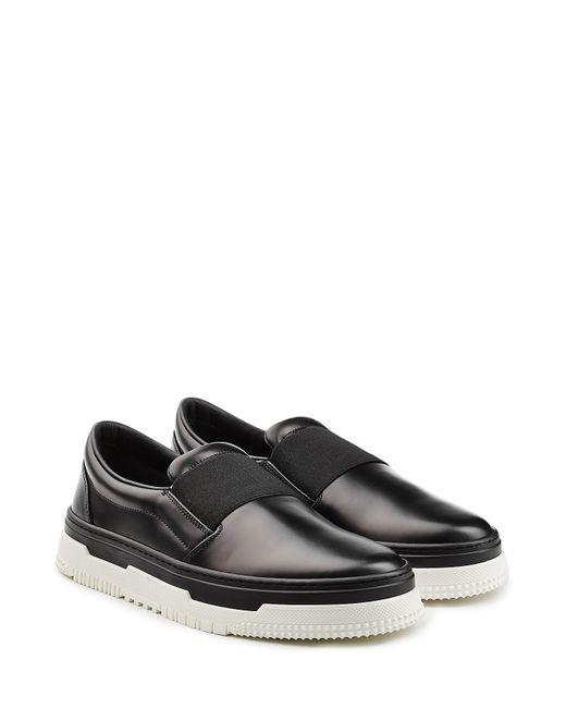 Valentino | Чёрный New Point Break Leather Slip-Ons Gr. Eu