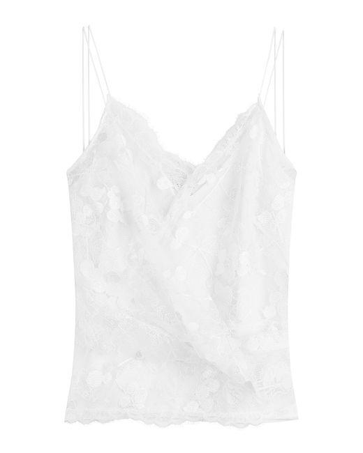 Carven | Женское Белый Lace Camisole Gr. Fr 38