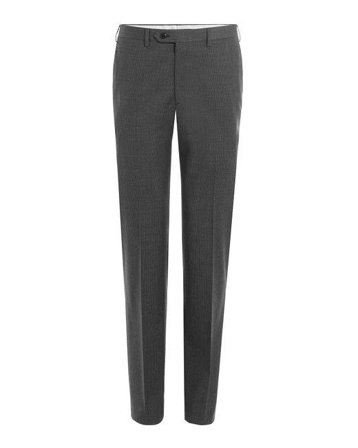 Brioni | Серый Printed Virgin Wool Pants Gr. Eu 48