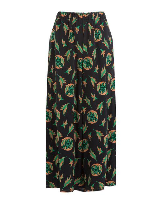 Etro | Женское Многоцветный Printed Wide Leg Cropped Pants Gr. It
