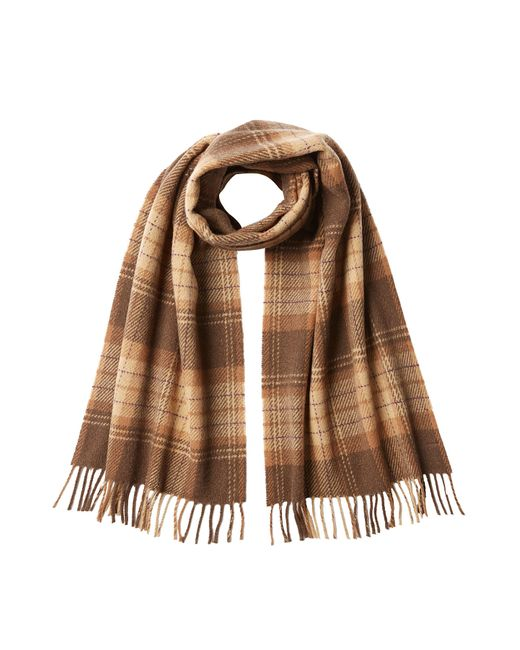 A.P.C. | Коричневый Checked Wool Scarf Gr. One Size