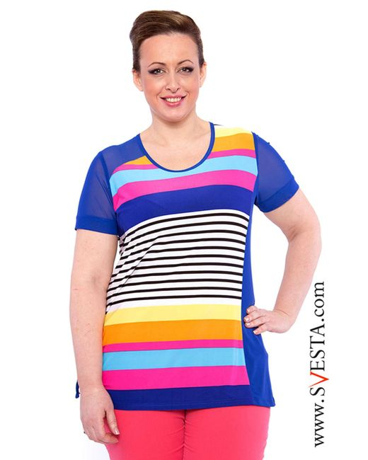 Svesta | Женская Цветная Блузка