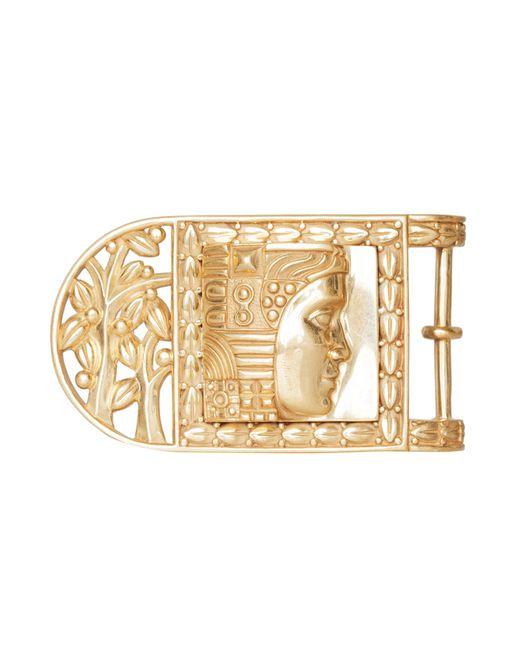 Kieselstein-Cord   Женская Золотая Металлическая Пряжка W.O.W. Frame
