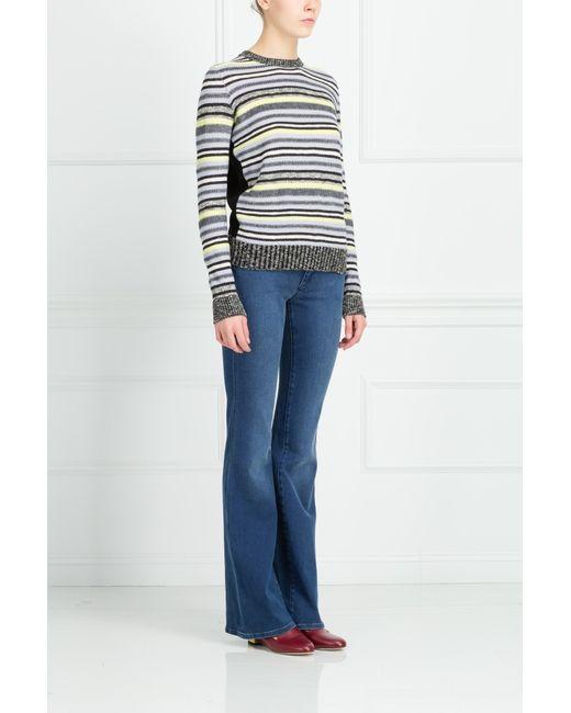 Mih Jeans | Женские Синие Хлопковые Джинсы