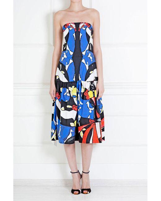 Tata Naka | Женское Многоцветное Хлопковое Платье