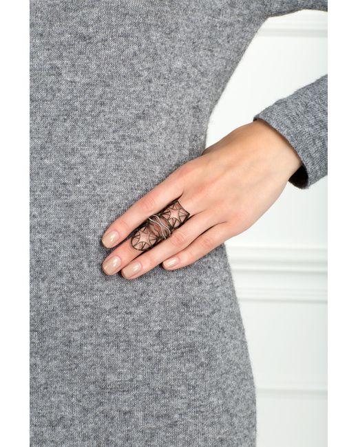 JO LLE JEWELLERY | Женское Чёрное Кольцо