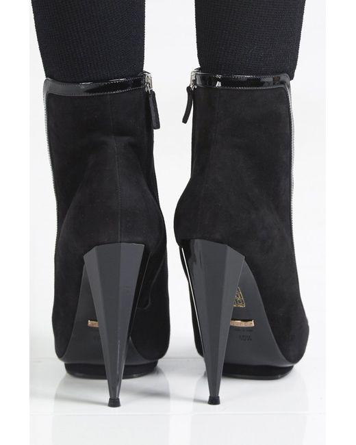 Gucci   Женские Чёрные Ботинки