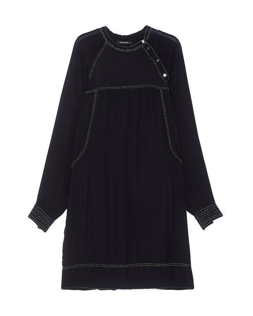 Isabel Marant   Женское Чёрное Шелковое Платье
